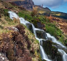 Storr and Falls by Jeanie