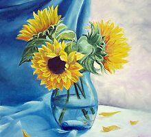 Chrysanthemums by Sorin Apostolescu