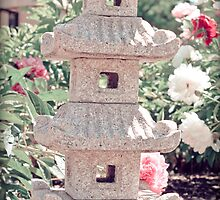 Vintage Japanese Garden by KathyBerger