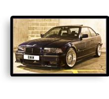 BMW 323 E36 Canvas Print