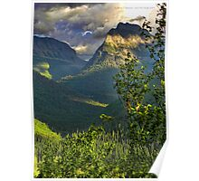High Country - Glacier National Park Poster