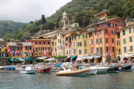 Portofino, Italia, Always so Beautiful ! by Ralph Angelillo