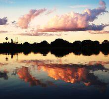 Sunset in Paradise by descendingdream