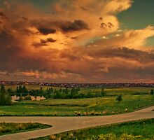 Skies Of June by John  De Bord Photography