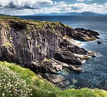 Dun Beag cliffs - Dingle by Polly x