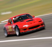 Mazda Miata at the racetrack by calgecko