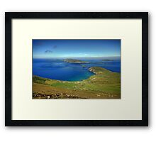 Slea Head View Framed Print