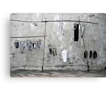 Air your Dirty Laundry Canvas Print