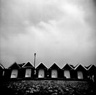 holga beach huts by redcow