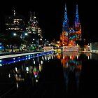 Vivid Sydney 2010   St. Mary's Cathedral by DavidIori