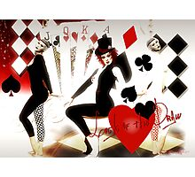 Lady Luck Photographic Print