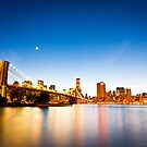 Manhattan at Night by Pete Latham