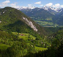 Alpine Landscape by Walter Quirtmair