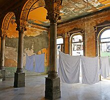 Washday at La guarida, Havana, Cuba by buttonpresser