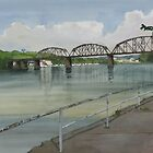 Railroad Bridge on the Allegheny by Robert Bowden