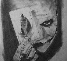 the dark knight by Lillian Collins