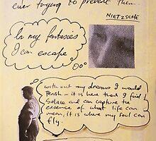 lost quote series #4 (Nietzsche) by Loui  Jover