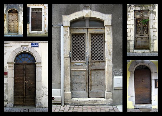 """French Doors"" by Mary Taylor"