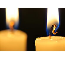 Candle Light Dinner For Two Photographic Print