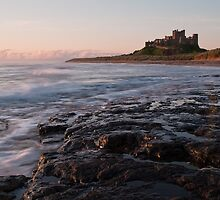 Bamburgh Castle: Northumbria by Steven  Lee