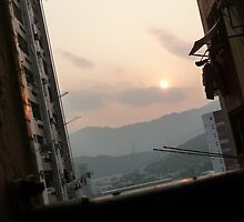 Hong Kong Sunset by tatsuguwa
