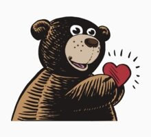 Bear with Heart by Dave Stephens