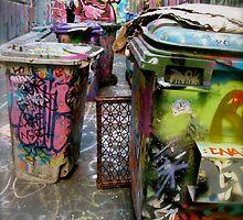 Chirp! trash bin view by broocee
