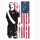 Dempsey with USA Flag by JoeyKnuckles