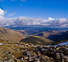 View from Three Tarns, Bowfell by James Grant