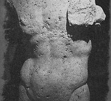 Roman statue, Lebanon by Clive Temple