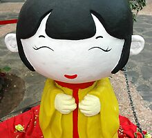 chinesse doll by bayu harsa