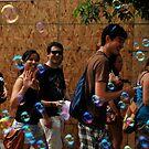 A wave of bubbles  by Jeff Stroud