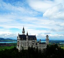 Neuschwanstein  by Julie Moore