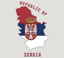 Zammuel's Country Series - Serbia (Republic of Serbia V2) T-Shirt