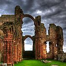 Lindisfarne Priory (HDR) by Ryan Davison Crisp