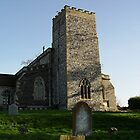Old Church in Suffolk by Feesbay