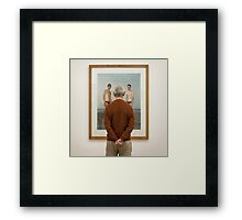 The Third Boy Framed Print