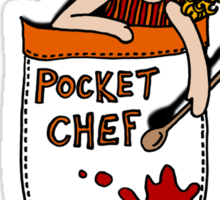 Pocket Chef Sticker