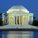 Thomas Jefferson Memorial-Washington, DC by hastypudding