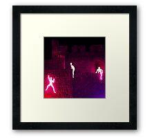 Light in Jerusalem - The Climbers III Framed Print