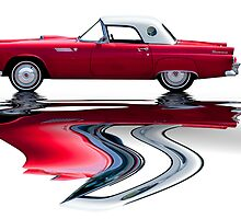 Classic T Bird by Michael  Petrizzo