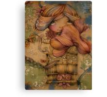 The Heart Garden of Hazel Rose Canvas Print