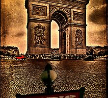Arc de Triomphe de l'Étoile by Chris Lord