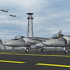Harrier Base by Walter Colvin