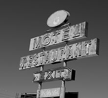 Forgotten Road side Motel. by Isaac Daily