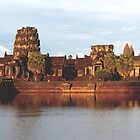 Sun set at Angkor by kimle