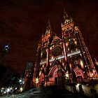 St Mary Cathedral at night by Jason Pang, FAPS FADPA