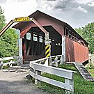 Herline Covered Bridge by Monnie Ryan