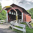 Herline Covered Bridge by Monnie Ryan