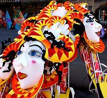 Masks by Philip Bateman